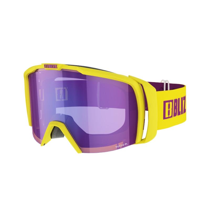 Nova Shiny Yellow Bliz Köp online Sportbrillor.se