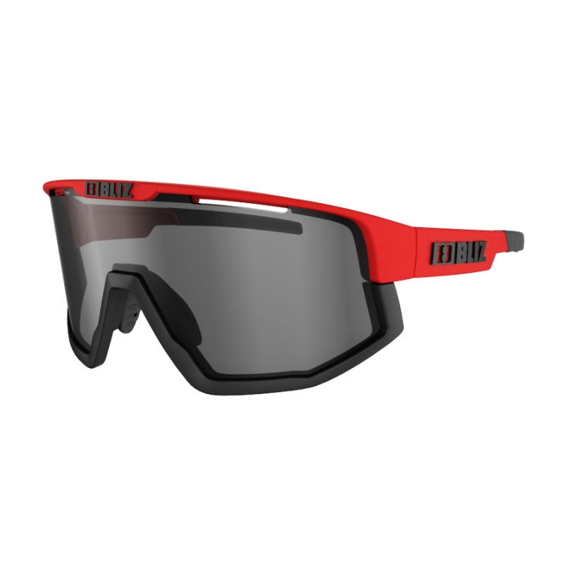 Fusion Red with SmokeRed Silvermirror Lens